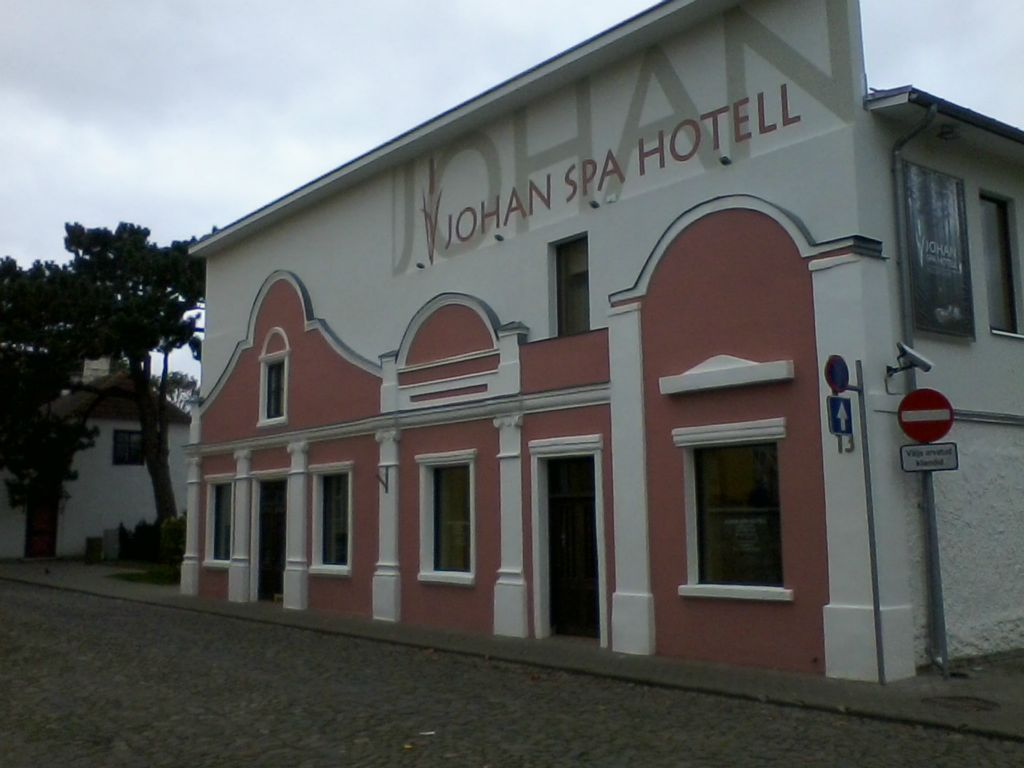 Johan SPA Hotell fassaadi renoveerimine (2015)